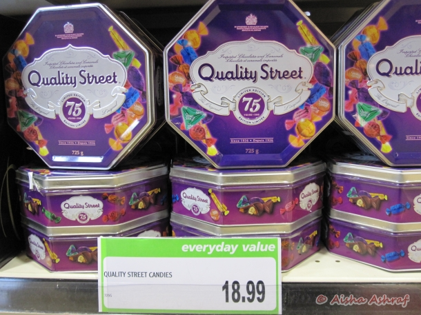Quality Street, confectionary
