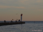 Lighthouse at Whitby Harbour, Ontario