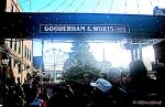 Busy Christmas Market, Distillery District, Toronto