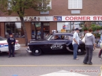 Durham District police car, old style