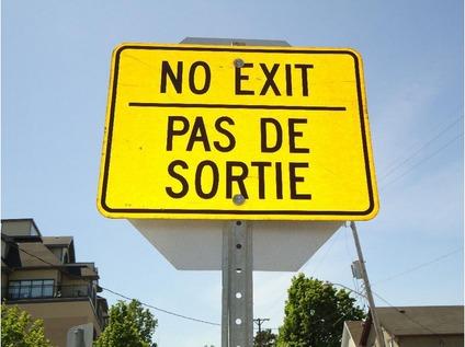 Bi-Lingual Road Signs