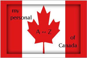 Canada-flag, personal AZ of Canada logo