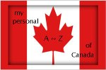 Canada-Flag, personal A-Z of Canada logo