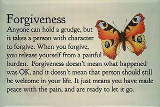 the meaning of forgiveness