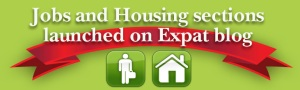 Jobs & housing sections on ExpatBlog