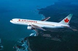 air-canada, arriving in Canada