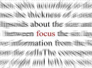 focus, mindfulness